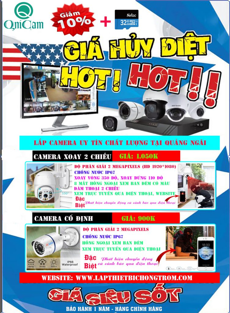 Camera Quảng Ngãi